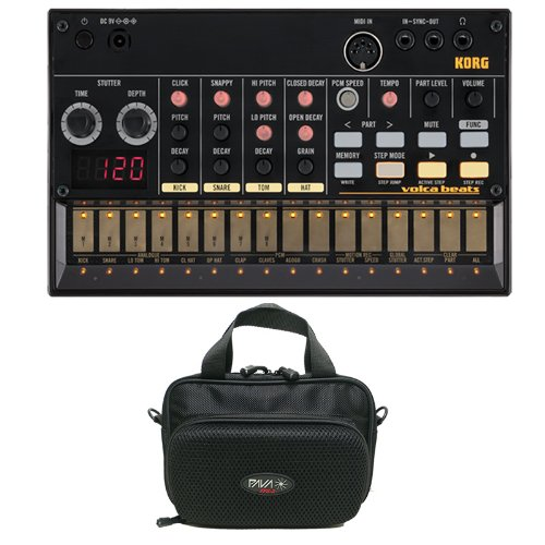 Korg Volca Beats With Pava Fps-2 Bag With Built-In Speakers Bundle