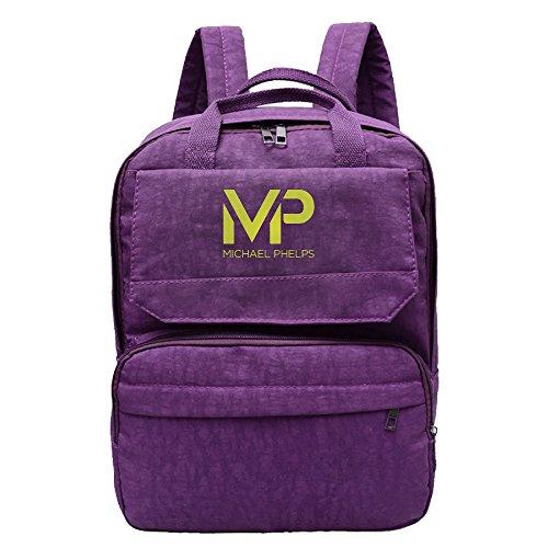 michael-phelps-logo-backpack-for-women-oxford-school-backpack-for-girls-boys-black