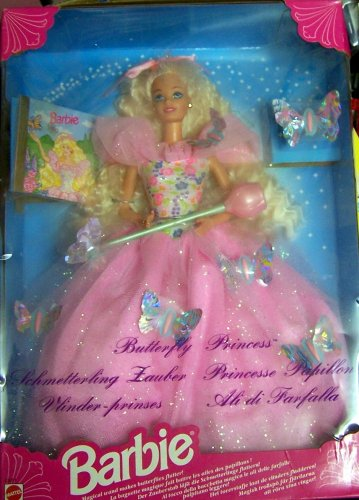 Barbie Doll Year 1994 Collectibles Butterfly Princess