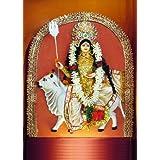 "Dolls Of India ""Shailaputri - The First Form Of Navadurga"" Photographic Print - Unframed (60.96 X 50.80 Centimeters..."