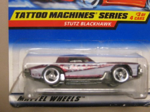Hotwheels Stutz Blackhawk-Tattoo Machines Series #3-4 #687 - 1