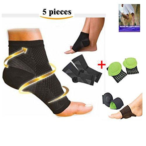 dr-kellys-plantar-fasciitis-socks-fallen-arches-flat-feet-foot-sleeves-cushion-support-orthopedic-eb