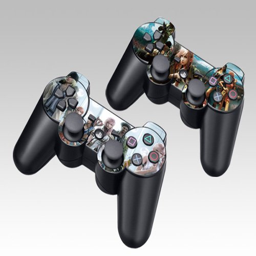 Pacers Final Fantasy Design Skin Decal Sticker For The Ps3 Playstation 3 Controller 2pcs In 1