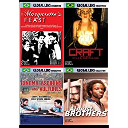Global Lens - The Best of World Cinema - Brazil Volume 1 - 4 DVD Collector's Edition