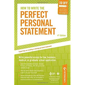 Perfect personal statement cv