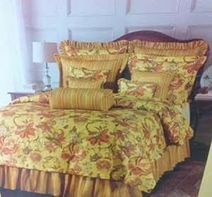 Amazon Com Rose Tree Wellington King Comforter Set