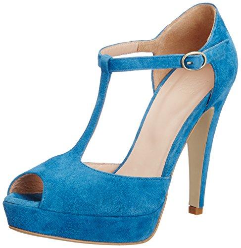 Saint G Saint G Women's Leather Fashion Sandals (Blue)