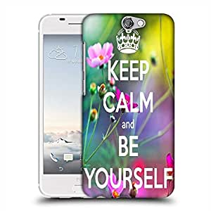 Snoogg Keep Calm and Be Yourself Designer Protective Back Case Cover For Asus Zenfone 6