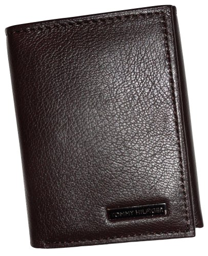 Men's Tommy Hilfiger Trifold & Valet Wallet Brown