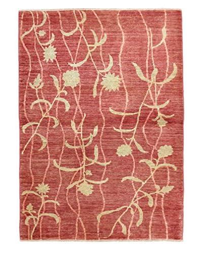 """Darya Rugs Modern Oriental Rug, Red, 3' 5"""" x 4' 9"""""""