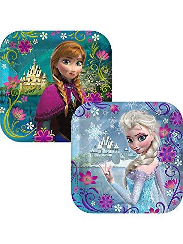 Disney Frozen - Square Dessert Plates Asst. (8) - 1