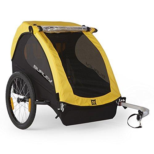 Burley Design Bee Bike Trailer, Yellow (Thule Bike Trailer compare prices)