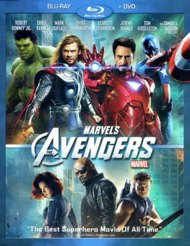 Marvel's The Avengers 2-Disc Blu-Ray DVD Combo Pack with BONUS BLU-RAY DISC (Building A Cinematic Universe) (605388023070)