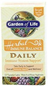 Garden of Life Herbal Immune Balance Daily, 120 Caplet