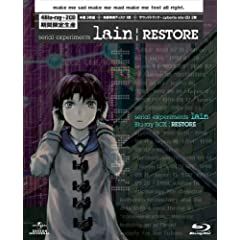 serial experiments lain Blu-ray BOX|RESTORE (������萶�Y)