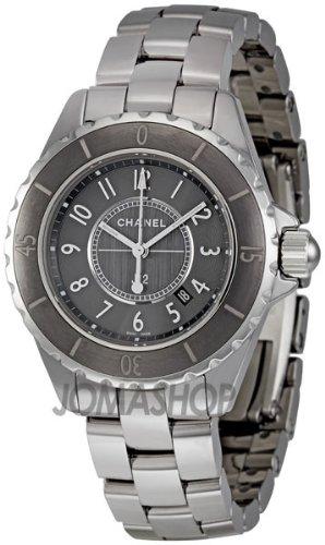 Chanel J12 Chromatic Titanium Ceramic Small Quartz Watch H2978