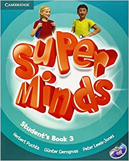 Super Minds Level 3 Student's Book with DVD-ROM Csm Pap/Dv Edition