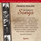 POULENC. The Complete Songs. Lott, Johnson (4 for 3)