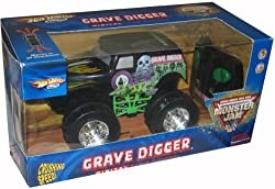 Hot Wheels R/C Grave Digger Radio Control