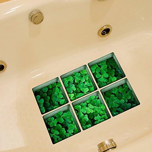 pag-6pcs-13-x-13-cm-de-trebol-de-cuatro-hojas-patron-3d-antideslizante-resistente-al-agua-banera-adh