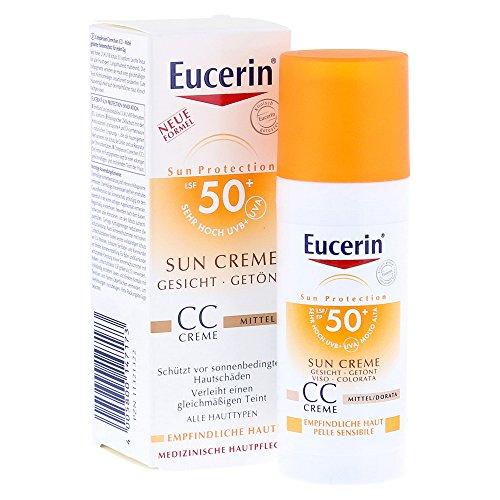 Eucerin Sun CC Crema Viso Colorata FP 50+ 50 ml