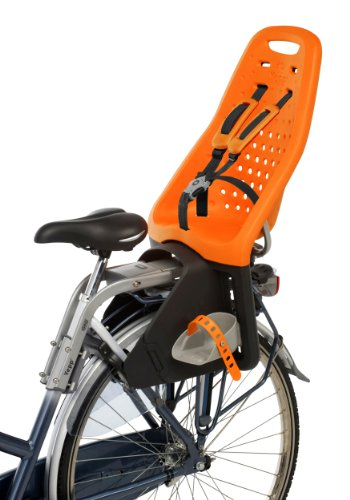 Yepp Maxi Bicycle Child Seat, Orange