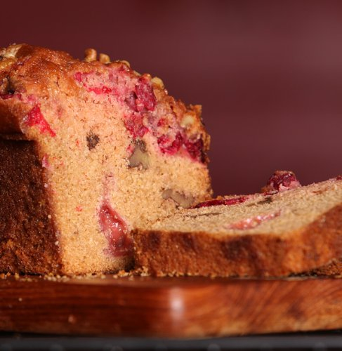 Cranberry Orange Nut Bread - Medium