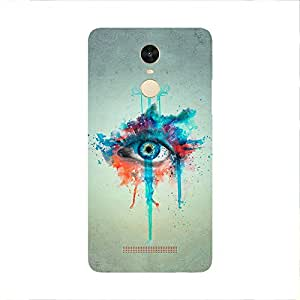 Back cover for Redmi Note 3 Colourful Eye