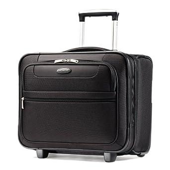 Samsonite Luggage L.i.f.t. Wheeled Boarding Bag, Black, 17 Inch