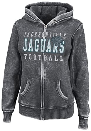 NFL Ladies Jacksonville Jaguars Sport Princess II Washed Charcoal Heather Long Sleeve... by VF LSG