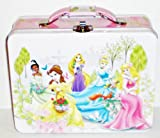 Disney Princess Garden Embossed Metal Lunch Box/ Carry-all