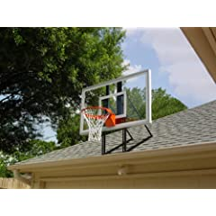 Roof King Platinum: Garage Roof-Mount Basketball Hoop System with 60 Inch backboard,... by Pro Dunk