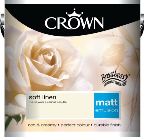 Crown Matt 2.5L Emulsion - Soft Linen