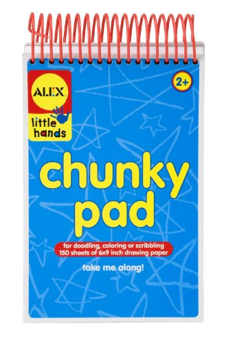 ALEX Toys Little Hands My Chunky Pad Thick 6
