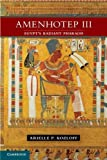 img - for Amenhotep III: Egypt's Radiant Pharaoh 1st edition by Kozloff, Arielle P. (2012) Hardcover book / textbook / text book