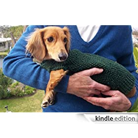 Knitting Pattern for Lena's Miniature Dachshund Dog Sweater