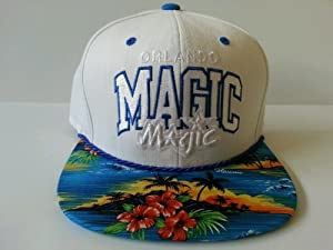 Mitchell and Ness NBA Orlando Magic Custom Snapback Cap, Hat: Oceanside by Mitchell & Ness
