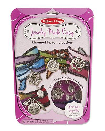 Melissa & Doug Charmed Ribbon Bracelets