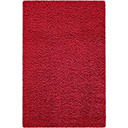 Mainstays (Size: 5\'x7\') Manchester Shag Rug, Autumn Red