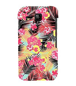 Amazing Floral Painting 3D Hard Polycarbonate Designer Back Case Cover for Micromax Bolt S301