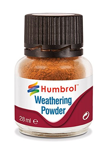 Humbrol AV0008 Weathering Powder Rust Model Kit