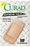 Curad Extreme Hold, X-Large, 2 Inches X 3 3/4 Inches, 10 Count, (Pack of 4)