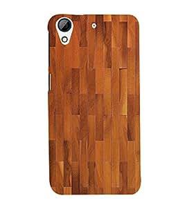 Stylish Wood Pattern 3D Hard Polycarbonate Designer Back Case Cover for HTC Desire 626 G::HTC Desire 626G Plus::HTC Desire 626G+