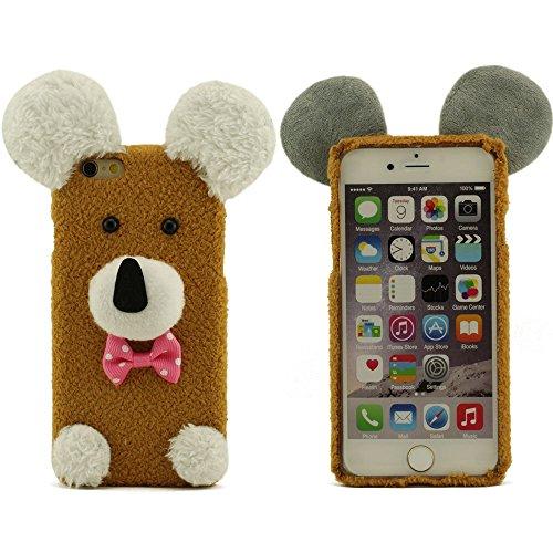 Schutzhülle für iPhone 6 Plus iPhone 6S Plus, Größe 5.5 Zoll (iPhone 6 4.7 Zoll nicht enthalten), Warm Baumwollmaterial Puppy Doll iPhone 6 Plus iPhone 6S Plus Hülle