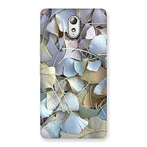Impressive Beauty Leaves Back Case Cover for Lenovo Vibe P1M
