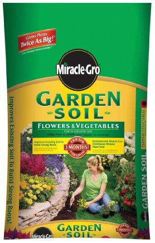 Miracle-Gro Garden Soil For Flowers & Vegetables
