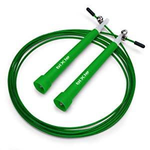 Buy Bixle(TM) Speed Cable Jump Rope, Super Fast, 10' feet Fully Adjustable by Bixle