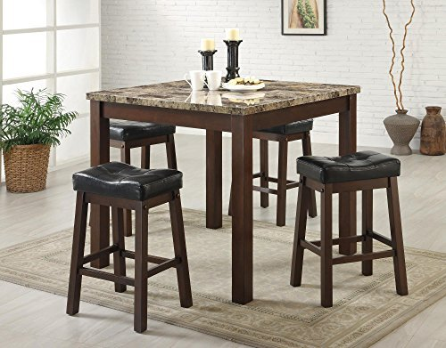 5pc-counter-height-dining-table-and-stools-set-dark-cherry-finish-by-coaster-home-furnishings