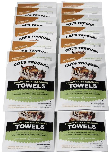 cats-tongue-heavy-duty-cleaning-degreaser-wipes-degreasing-towels-25-pack-grab-n-go-pouches