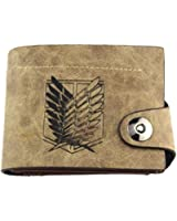 Attack on Titan Emblems of 4 Squads Bifold Wallet